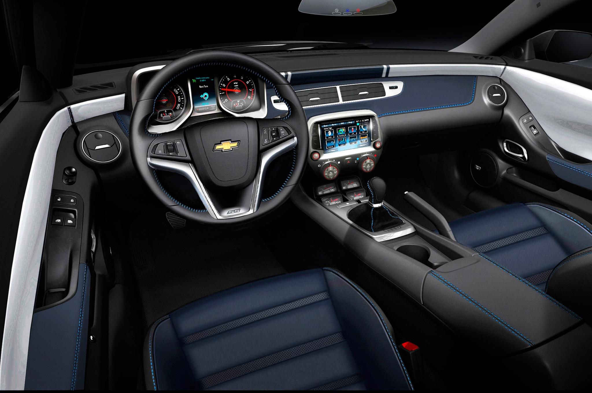 Sema 2013 Chevrolet Rolls Out Custom 2014 Corvettes 2014 Camaros