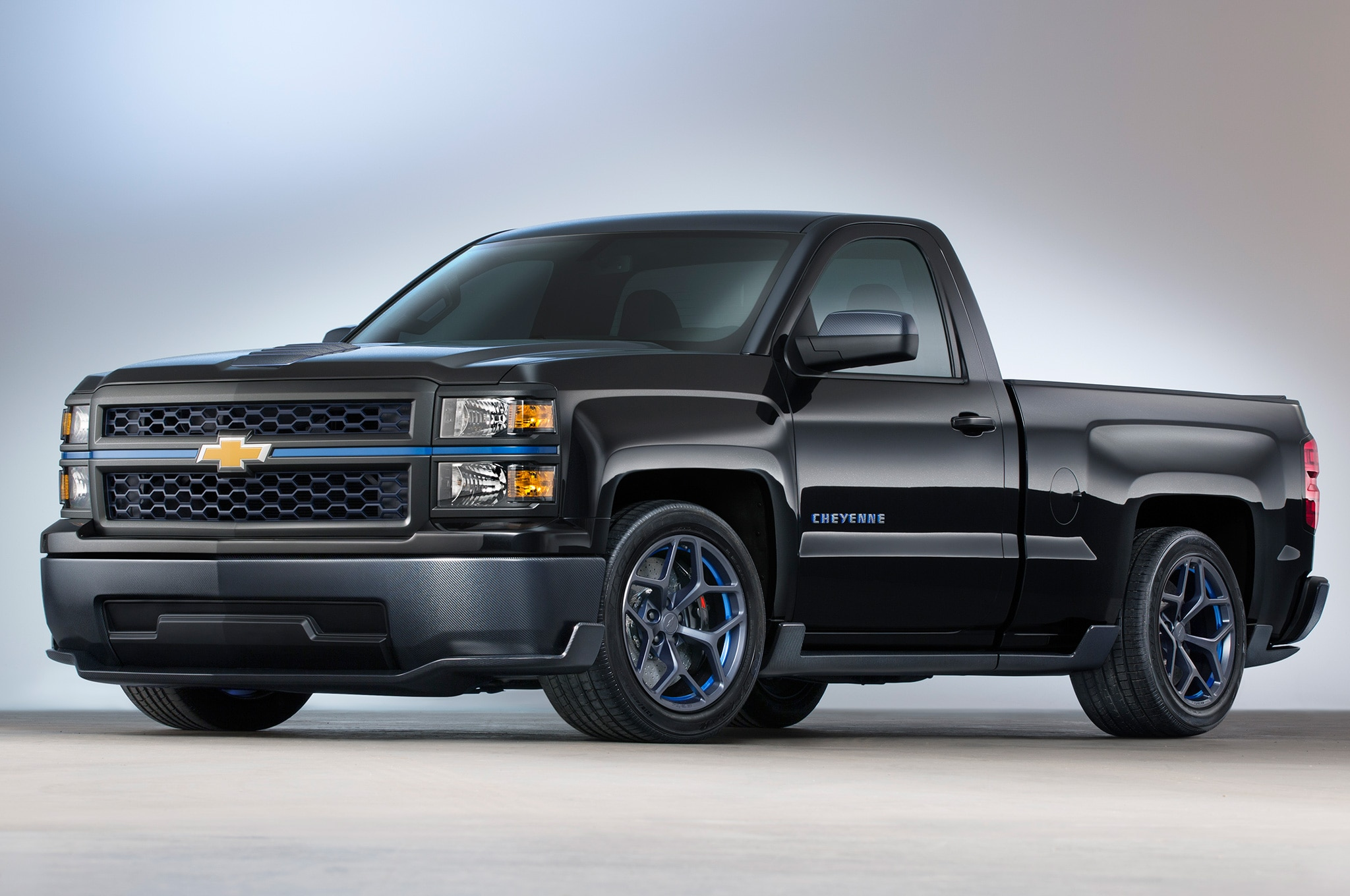 2014 chevrolet silverado cheyenne sema concept revealed. Black Bedroom Furniture Sets. Home Design Ideas
