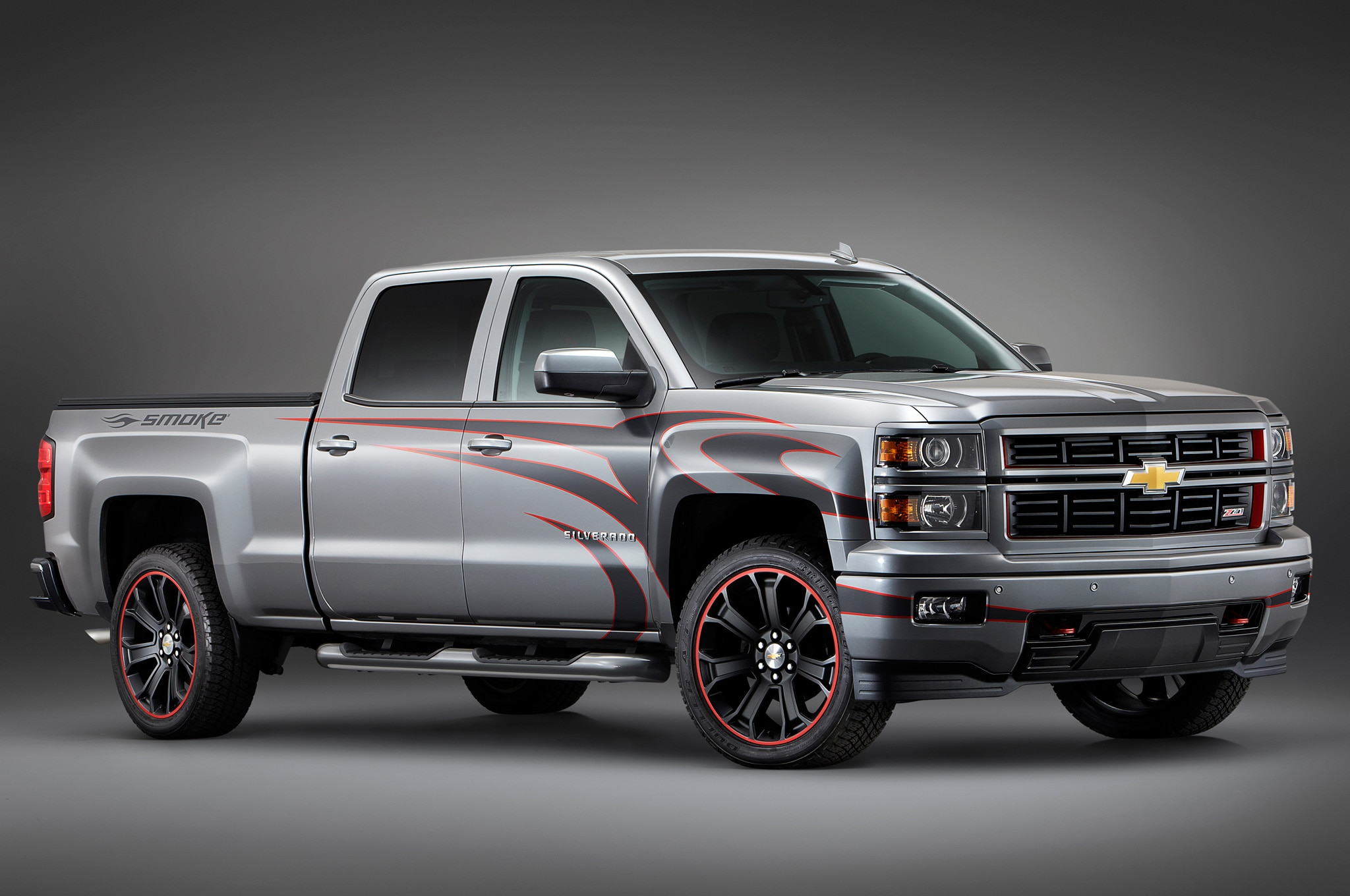 2014 Chevy Tahoe >> SEMA 2013: Chevrolet Rolls Out Customized 2014 Silverado, 2015 Tahoe Trucks