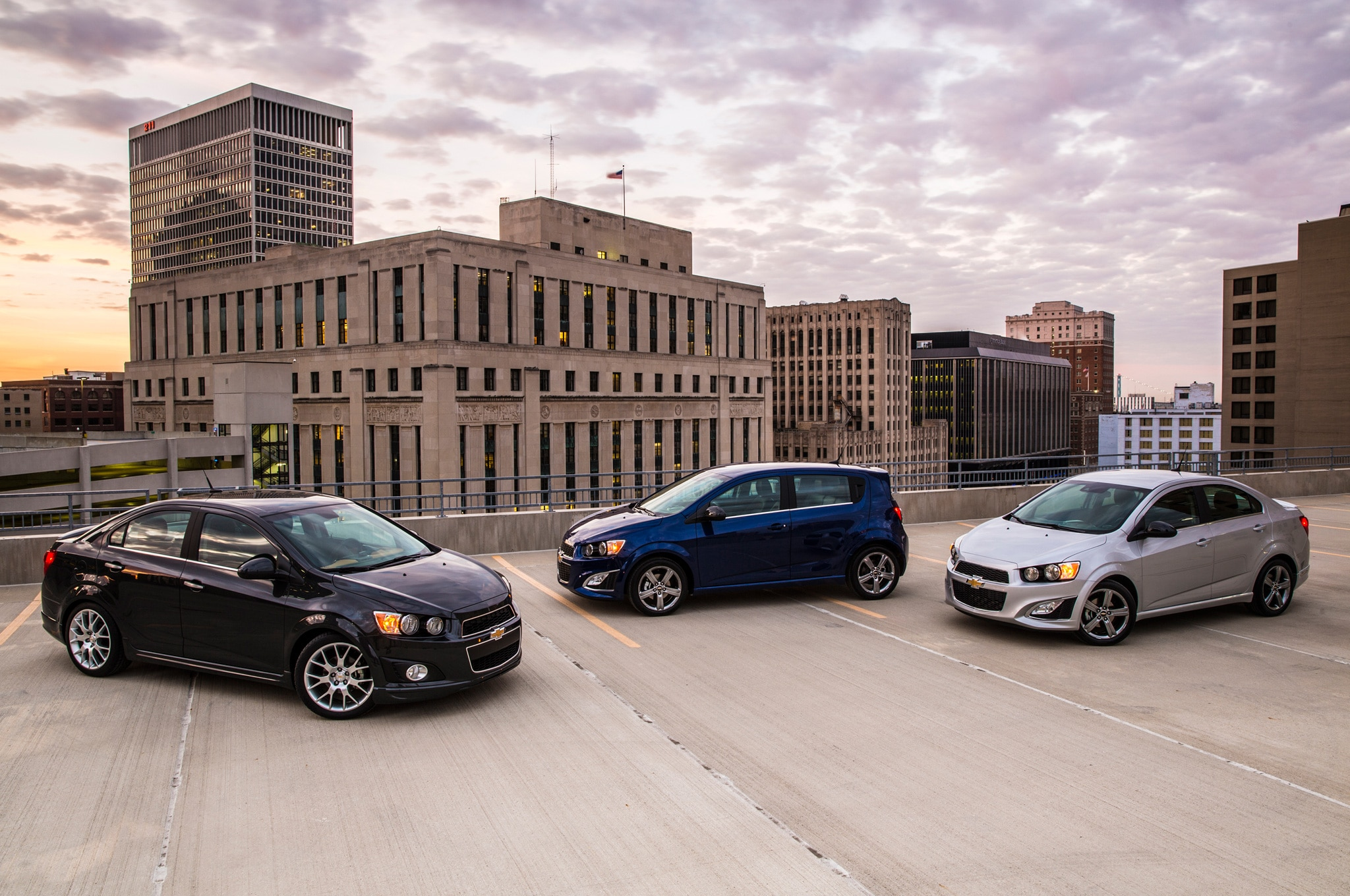 2014 Chevrolet Sonic Lineup1