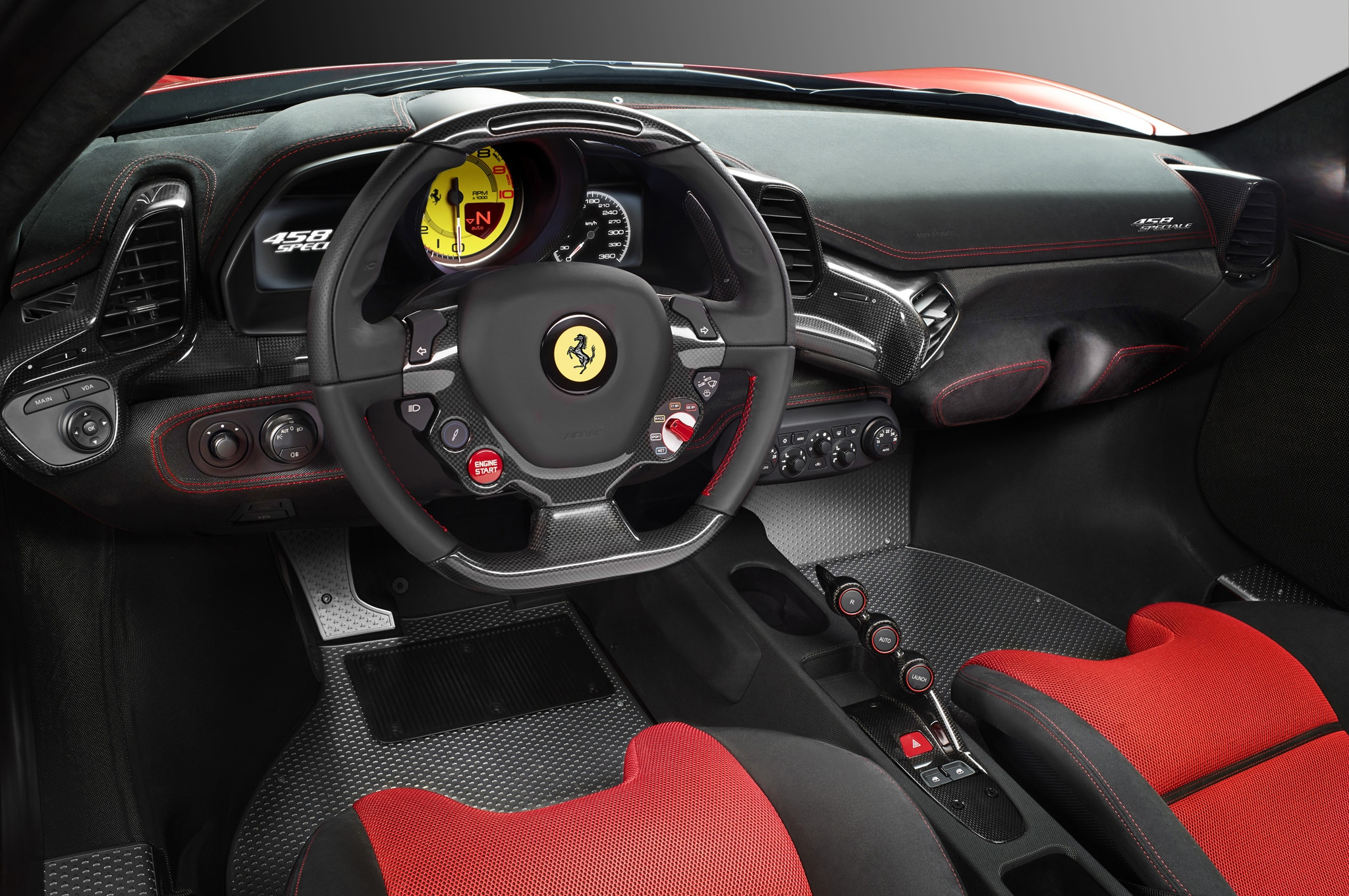 when the 458 italia - 2014 Ferrari 458 Italia Interior