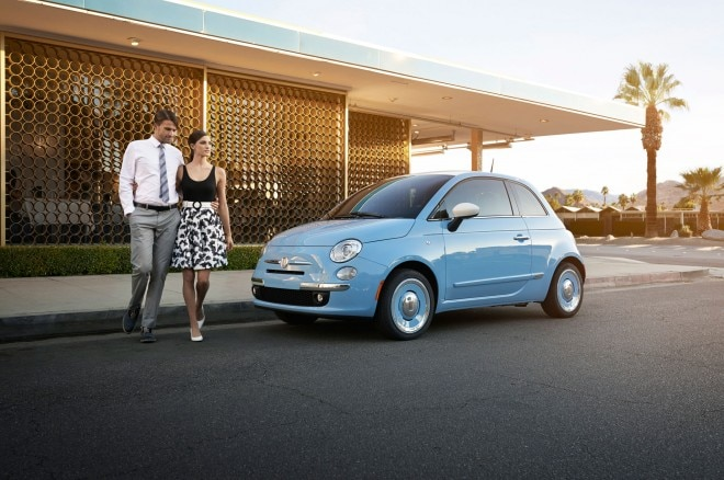 2014 Fiat 500 1957 Edition Front Left Side View1 660x438
