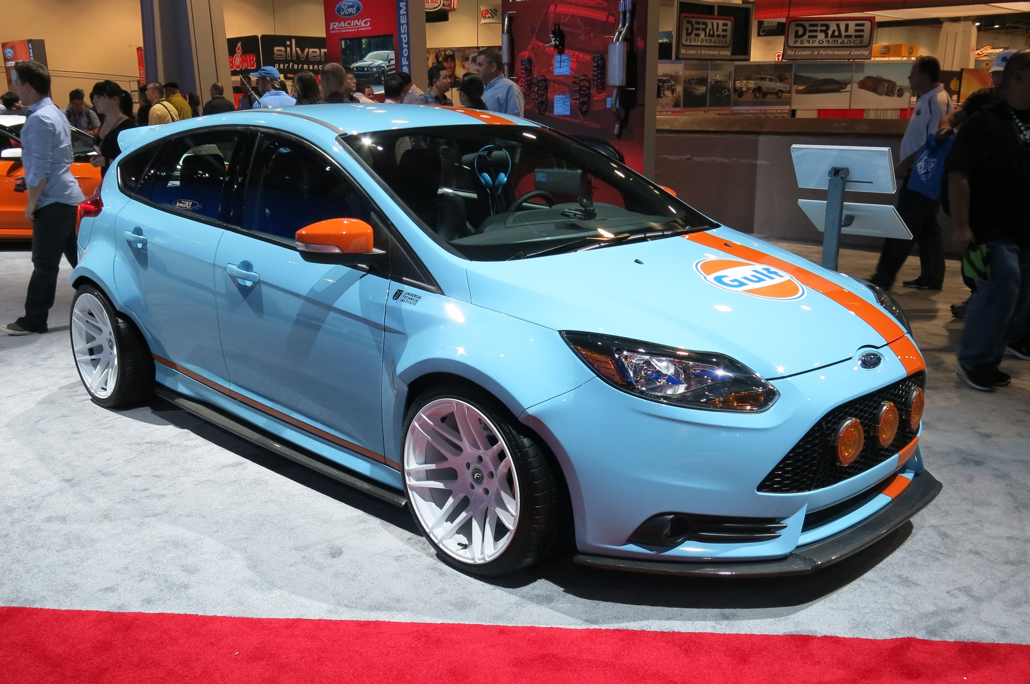 2014 Ford Focus ST By Tjin Front Three Quarter1