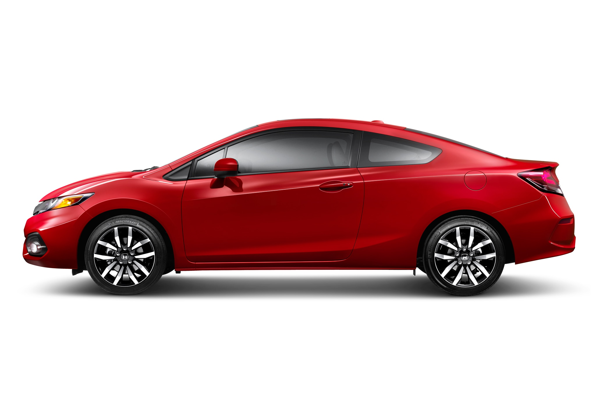 2014 Honda Civic Red Side View2