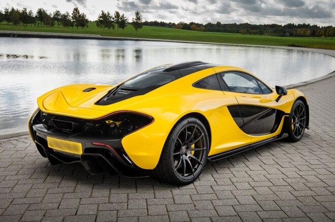 2014 McLaren P1 Rear View1 660x438
