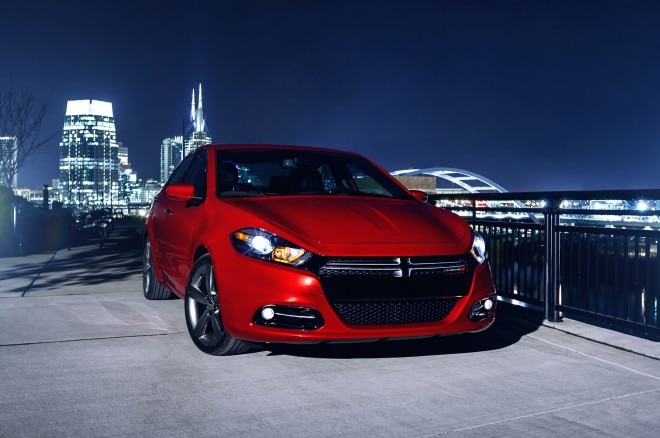 2014 Dodge Dart Right Front Angle1 660x438