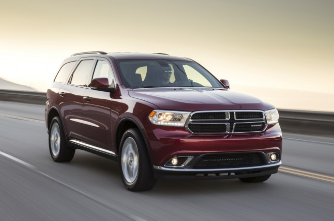 2014 Dodge Durango Front Three Quarters1 660x438