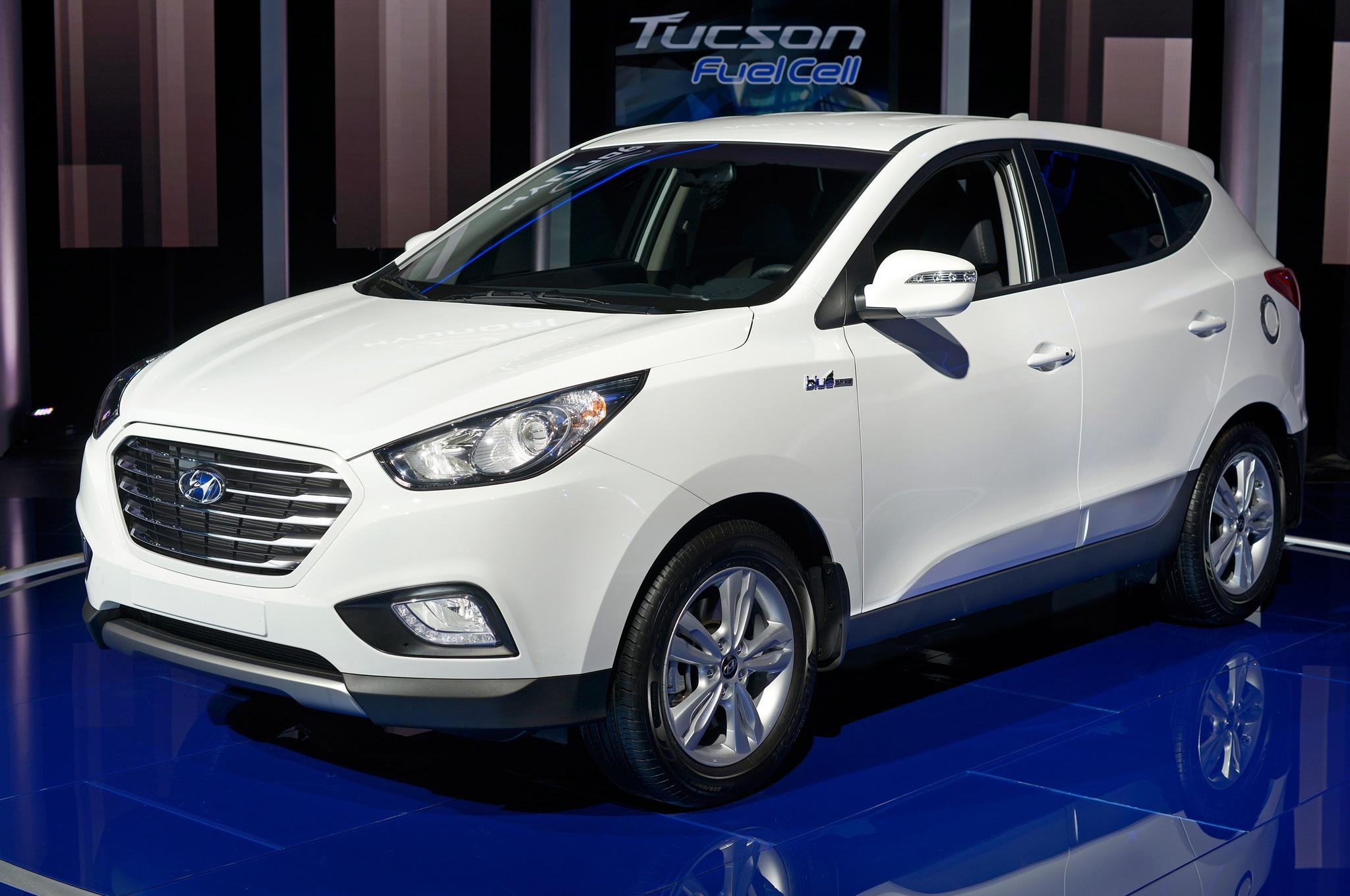 2014 Hyundai Tucson Fuel Cell Front Three Quarter