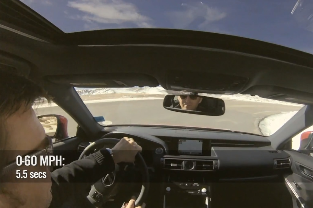 feature flick 2014 lexus is350 f sport driven to top of pikes peak. Black Bedroom Furniture Sets. Home Design Ideas
