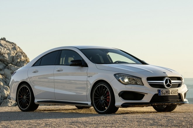 2014 Mercedes Cla45 Amg Front Three Quarters1 660x438