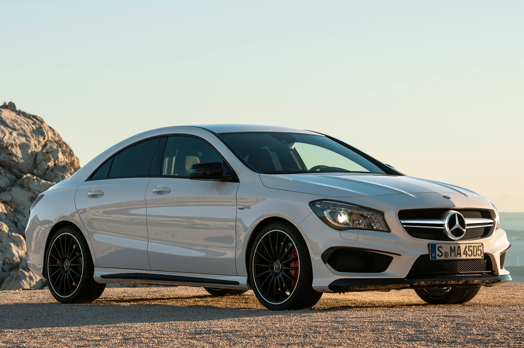 2014 Mercedes Cla45 Amg Front Three Quarters1
