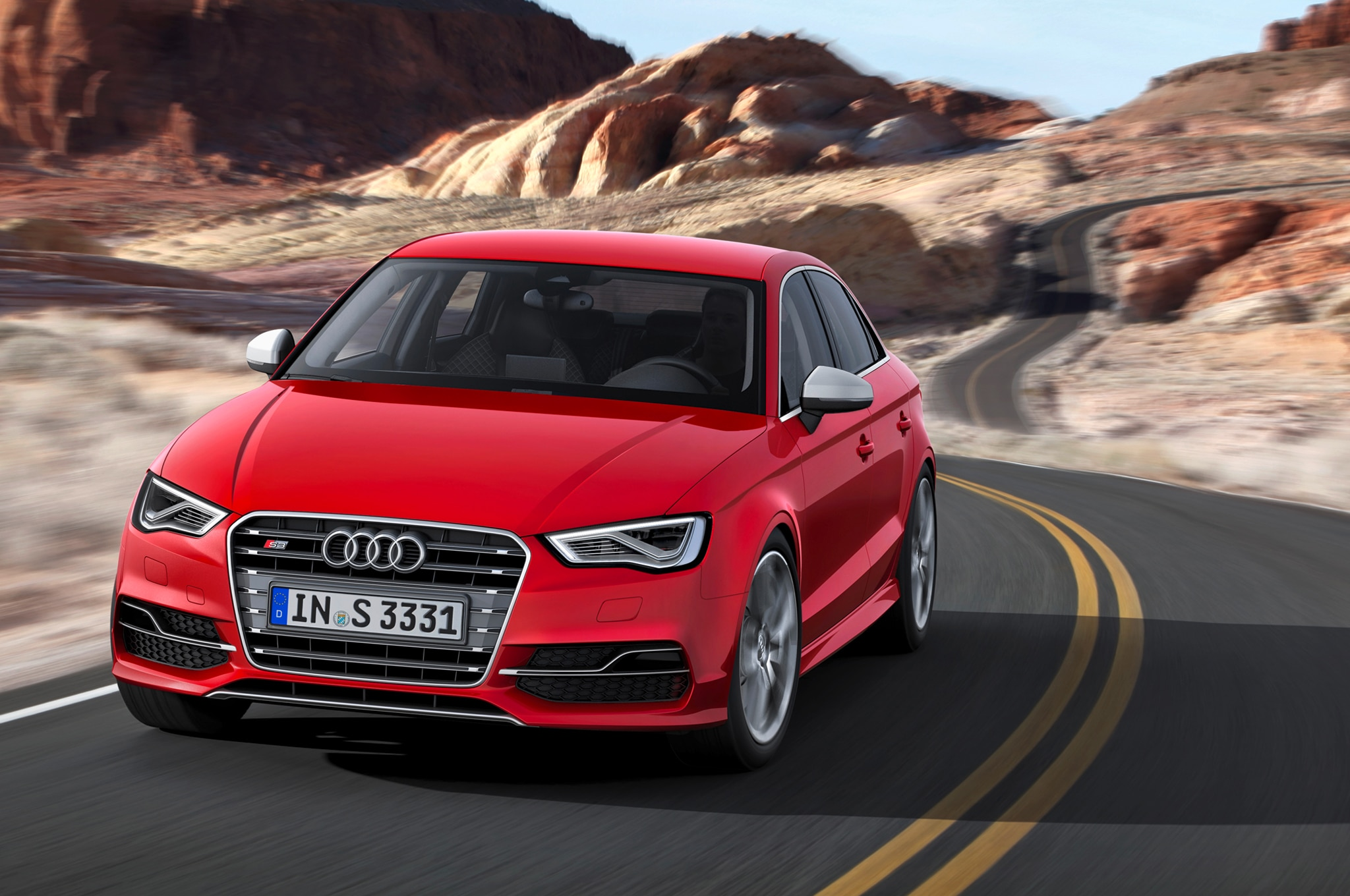 2015 Audi S3 Front View 061