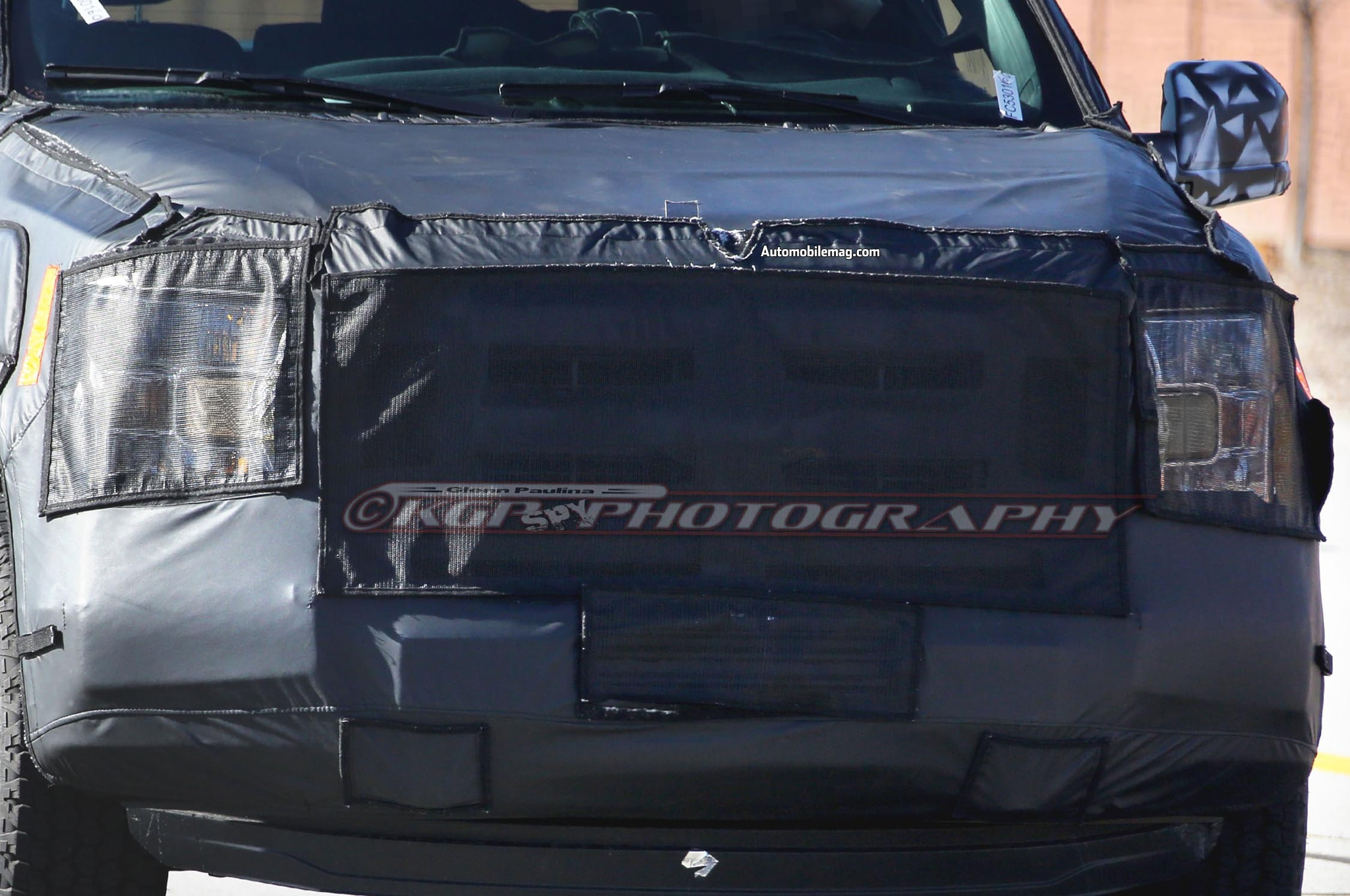 2015 Ford F 150 Spied Front Close1