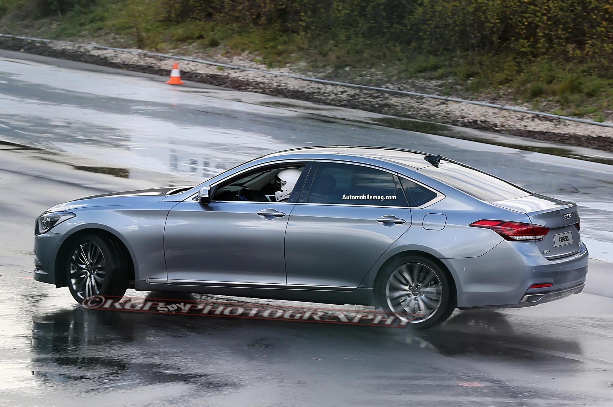 2015 Hyundai Genesis Spied Profile1