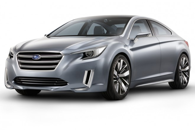 2015 Subaru Legacy Concept Front Side View1 660x438