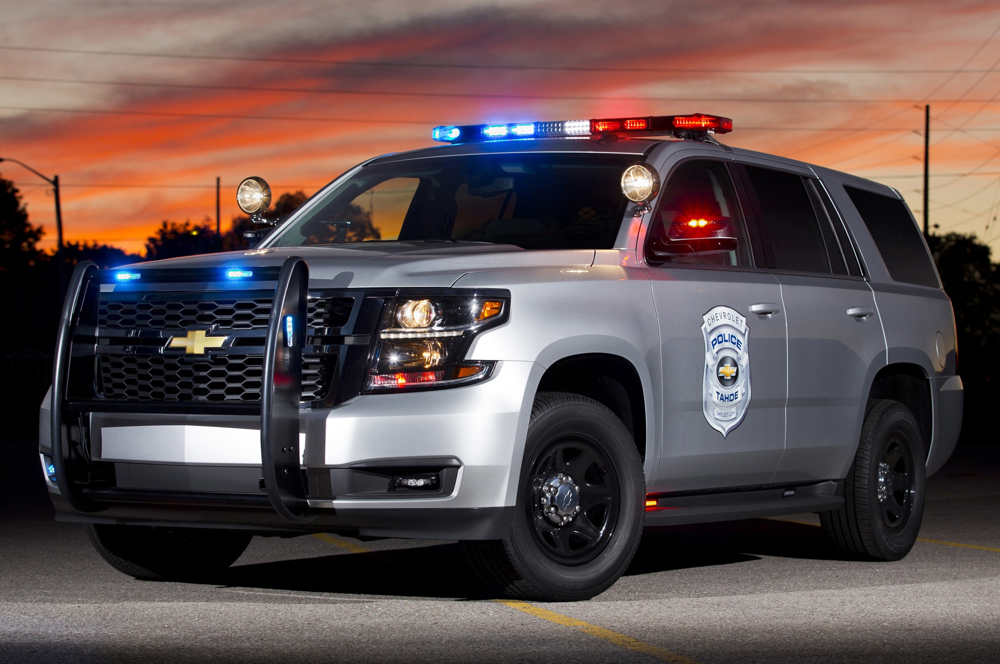 2015 Chevrolet Tahoe Police Concept Front1