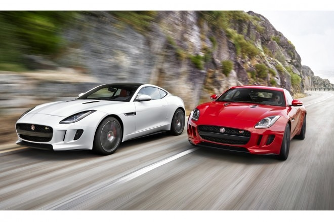 2015 Jaguar F Type Coupe Dual Front Views1 660x438