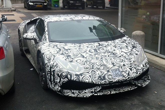 2015 Lamborghini Cabrera Spied Front Three Quarters1 660x438