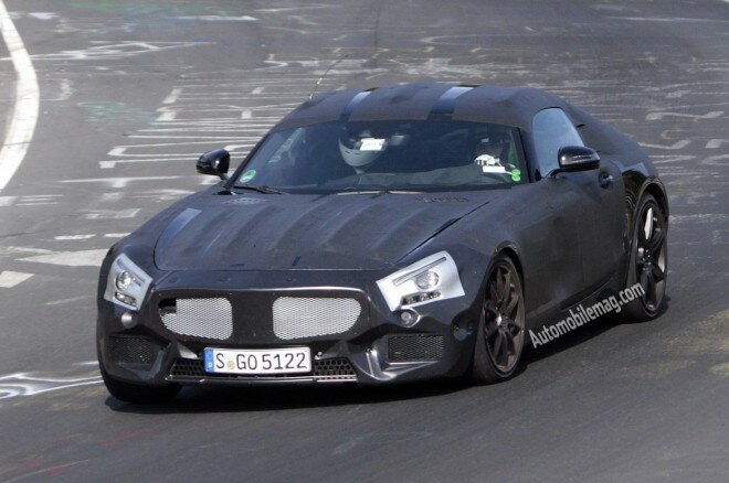 2015 Mercedes Slc Front Spy Shot 21 660x438