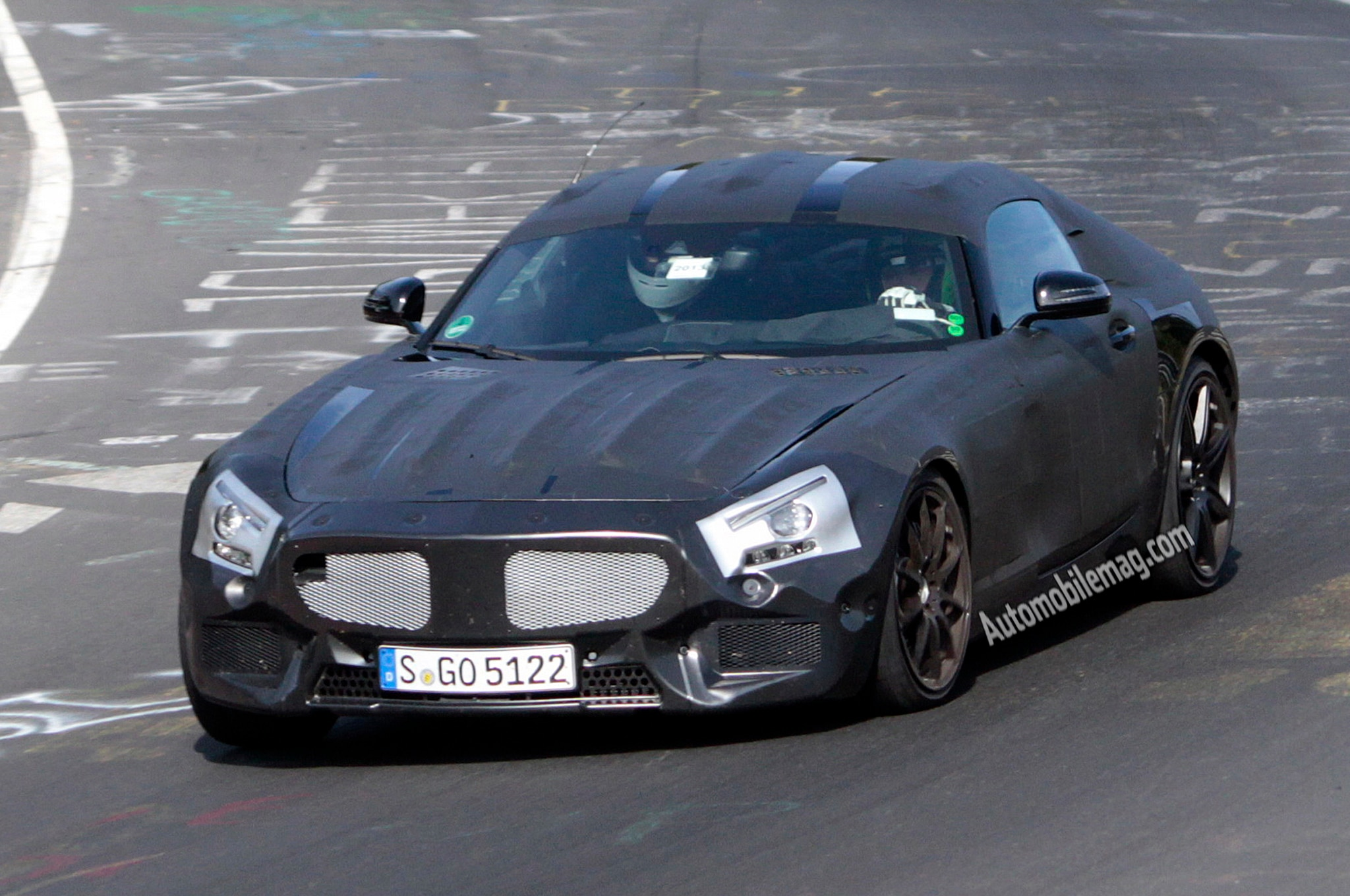 2015 Mercedes Slc Front Spy Shot 21