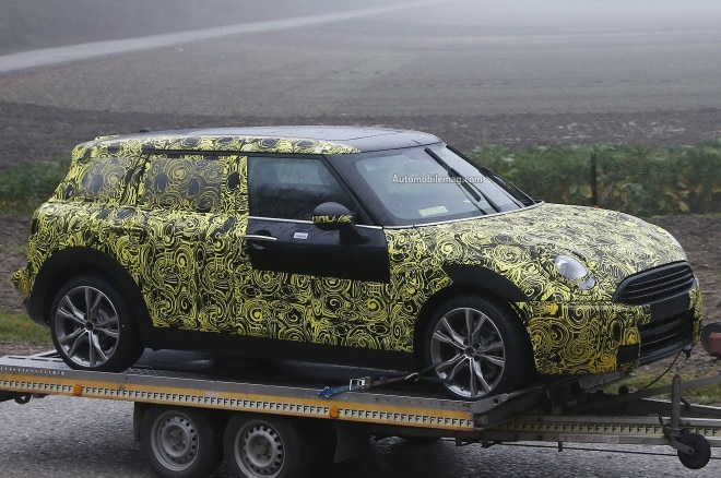2015 Mini Cooper Clubman Spied Front Three Quarters1 660x438
