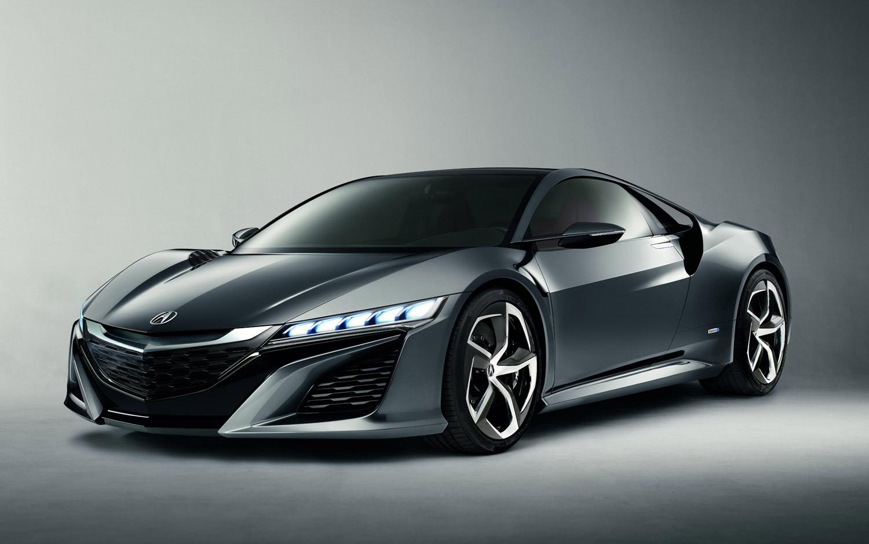 Acura NSX Concept Front Three Quarter1