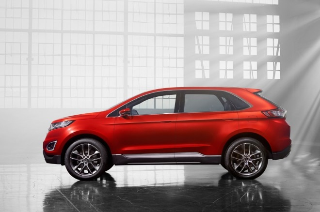 Ford Edge Concept Side Profile1 660x438