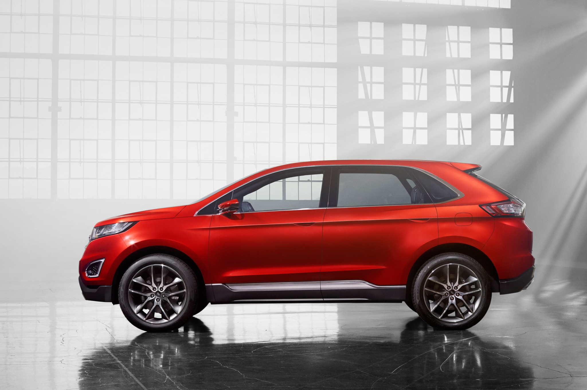 Ford Edge Concept Side Profile1