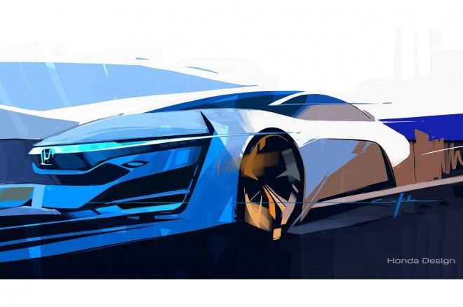 HondaFCEV Concept Teaser Sketch Final 660x438