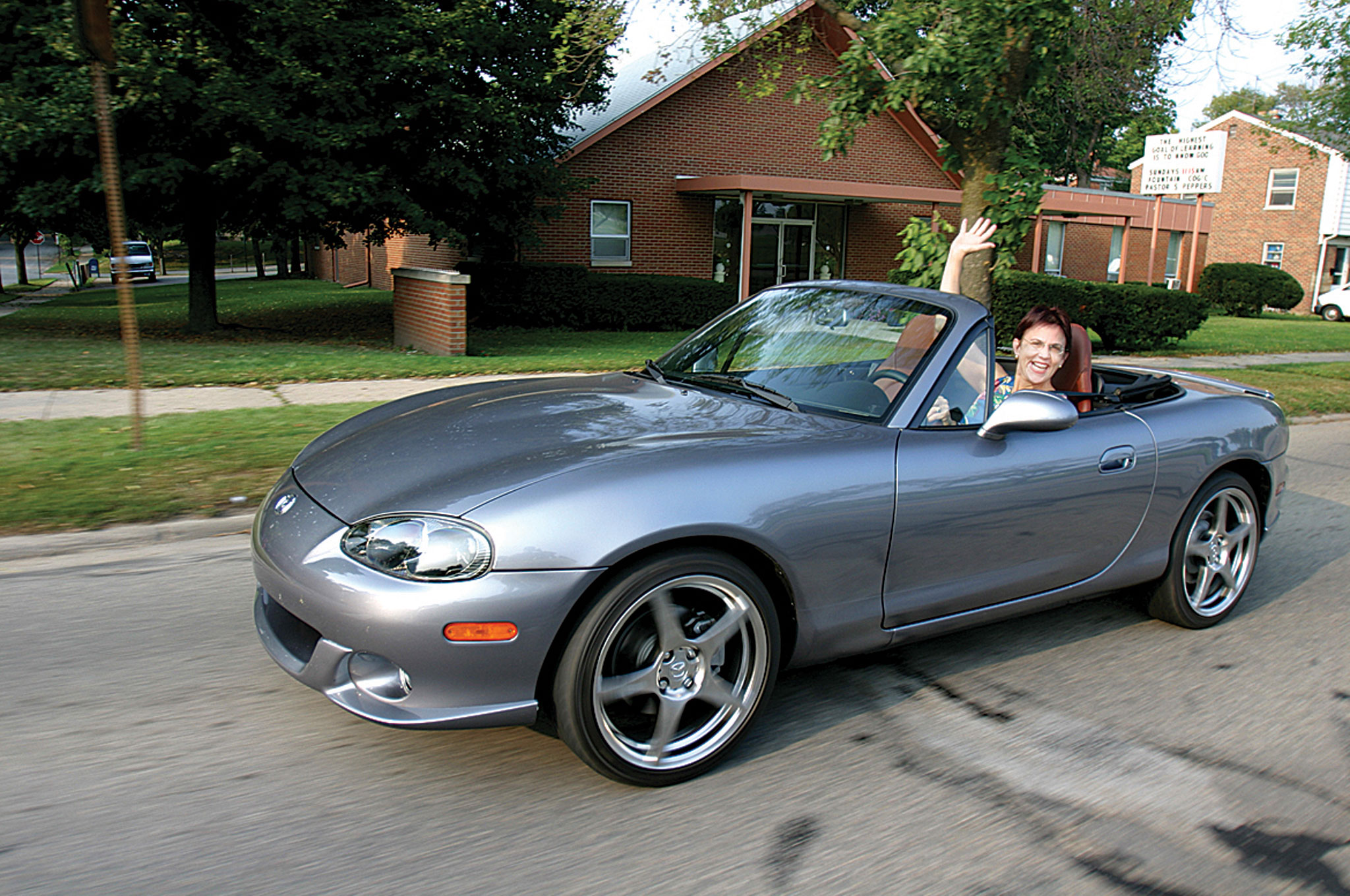 First Time S The Aoy Charm 1990 Mazda Miata Automobile