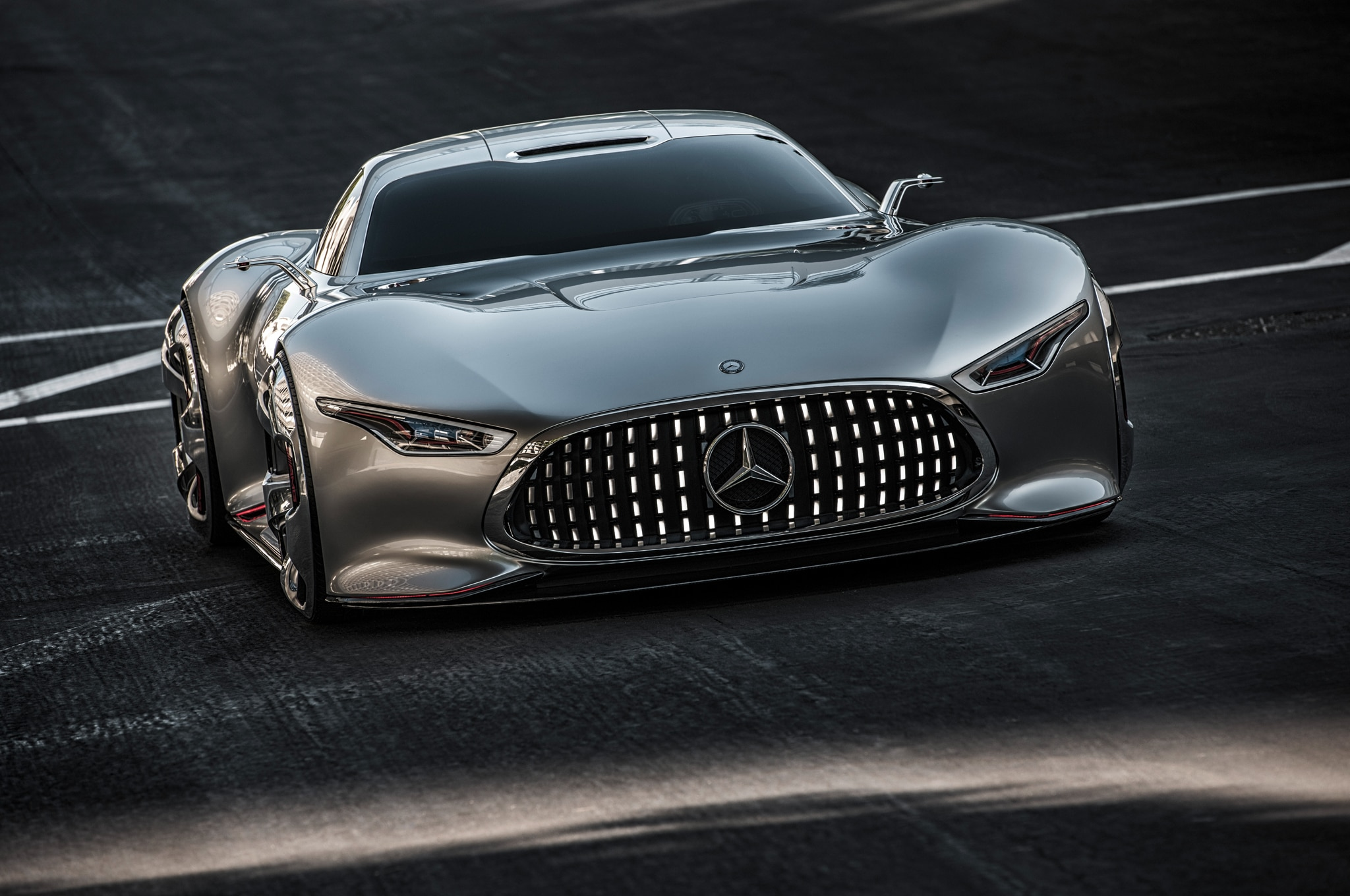 Mercedes Benz AMG Vision Gran Turismo Front End1