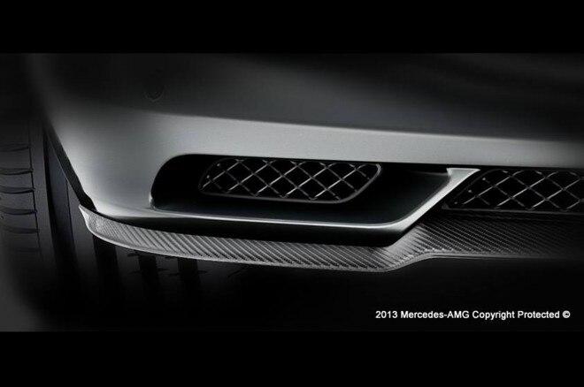 Mercedes Benz AMG Teaser Splitter1 660x438