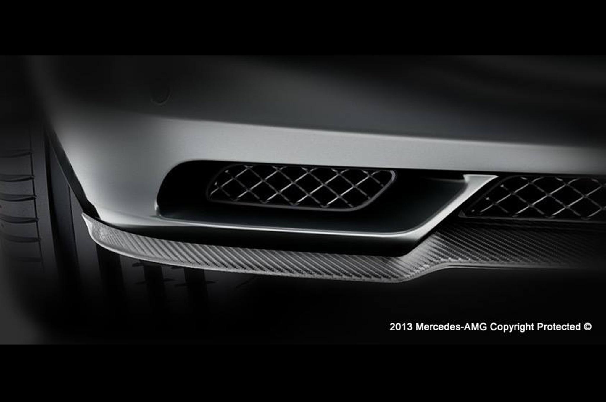Mercedes Benz AMG Teaser Splitter1