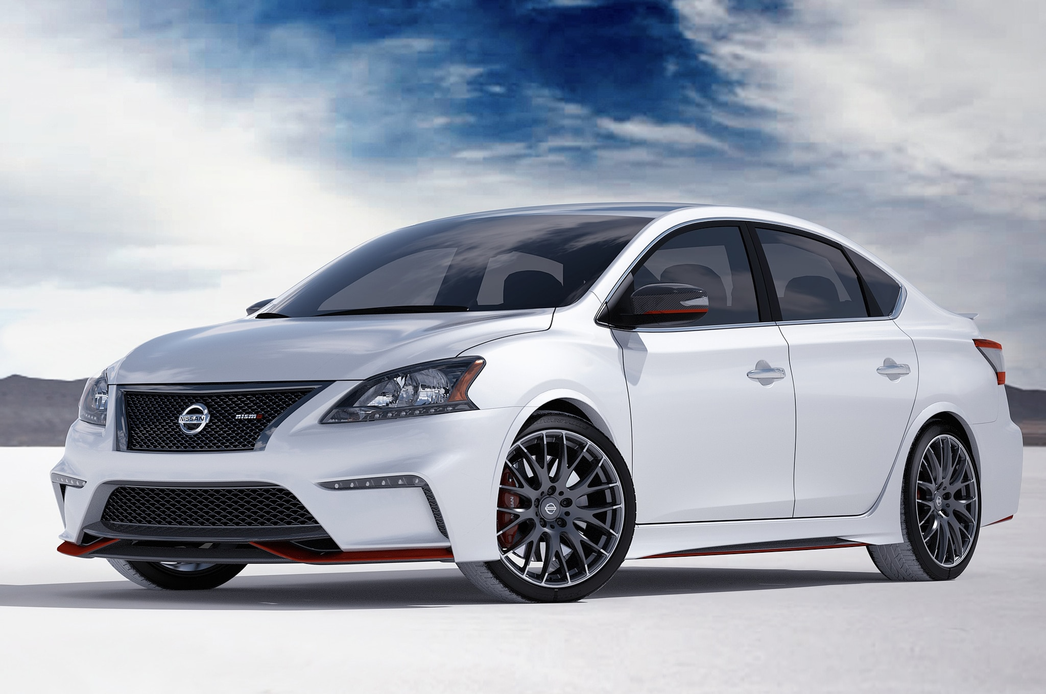 Nissan Sentra Concept Front1