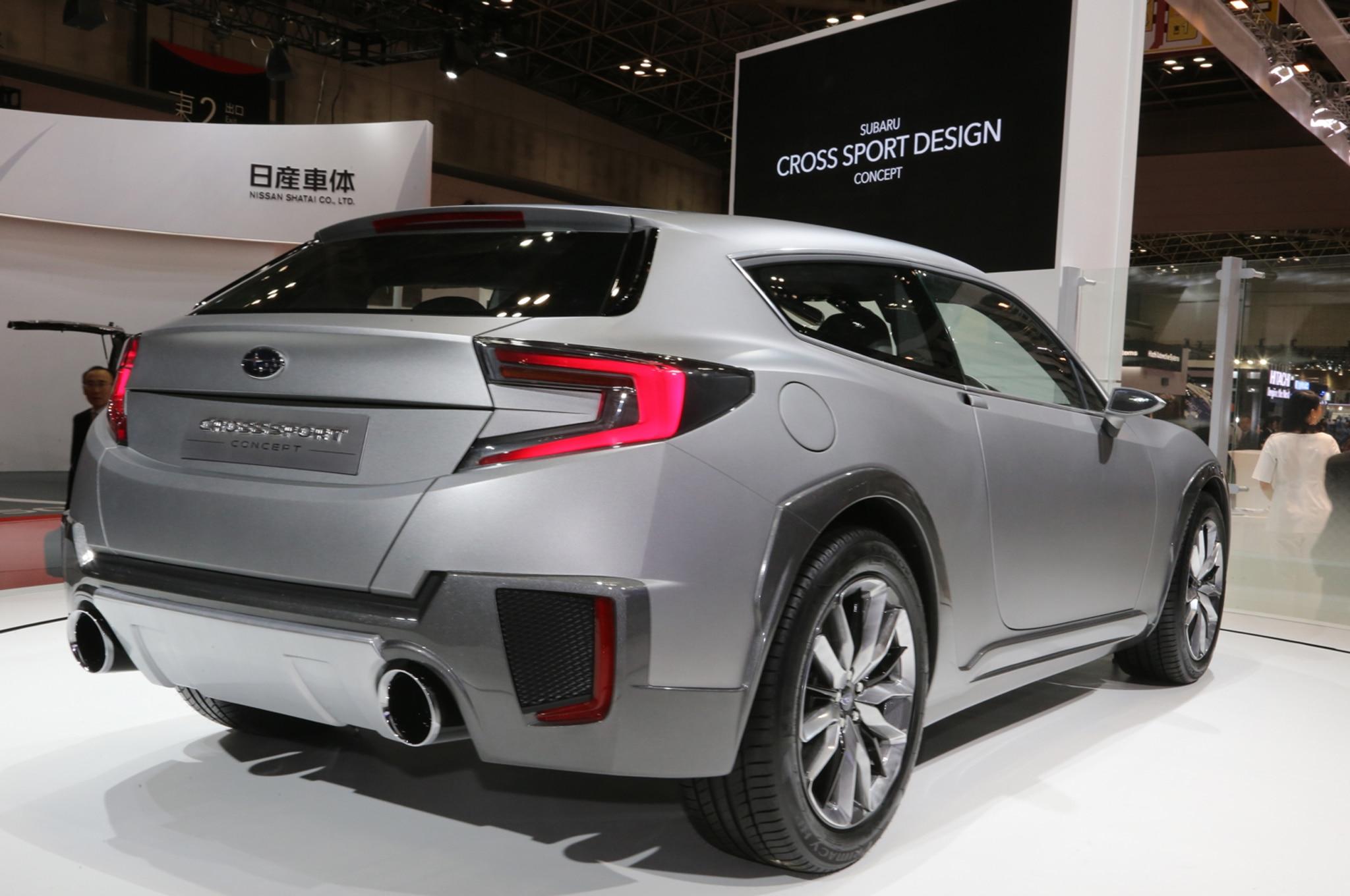 Subaru Cross Sport Concept Rear Three Quarters1
