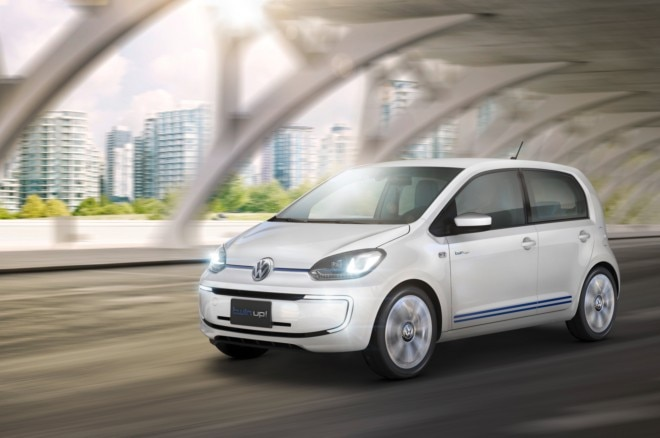 Volkswagen Twin Up Concept Front Three Quarter In Motion1 660x438