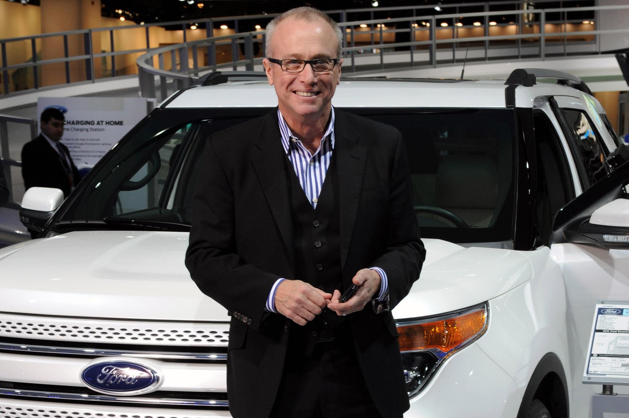 Ford Designer J Mays With Explorer1
