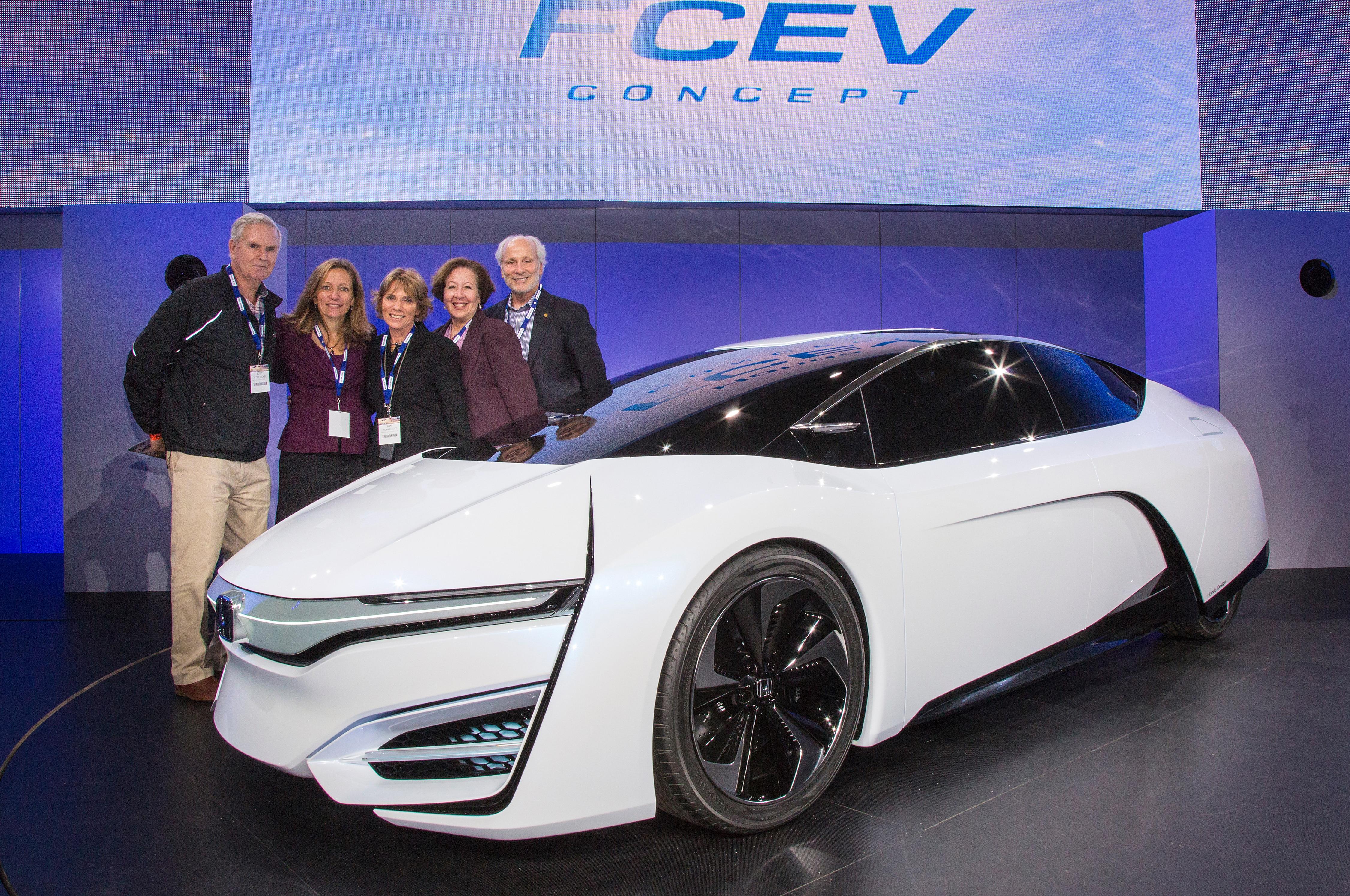 Honda Fcev Concept Debut 21
