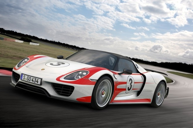 Porsche 918 Weissach Front Three Quarter1 660x438