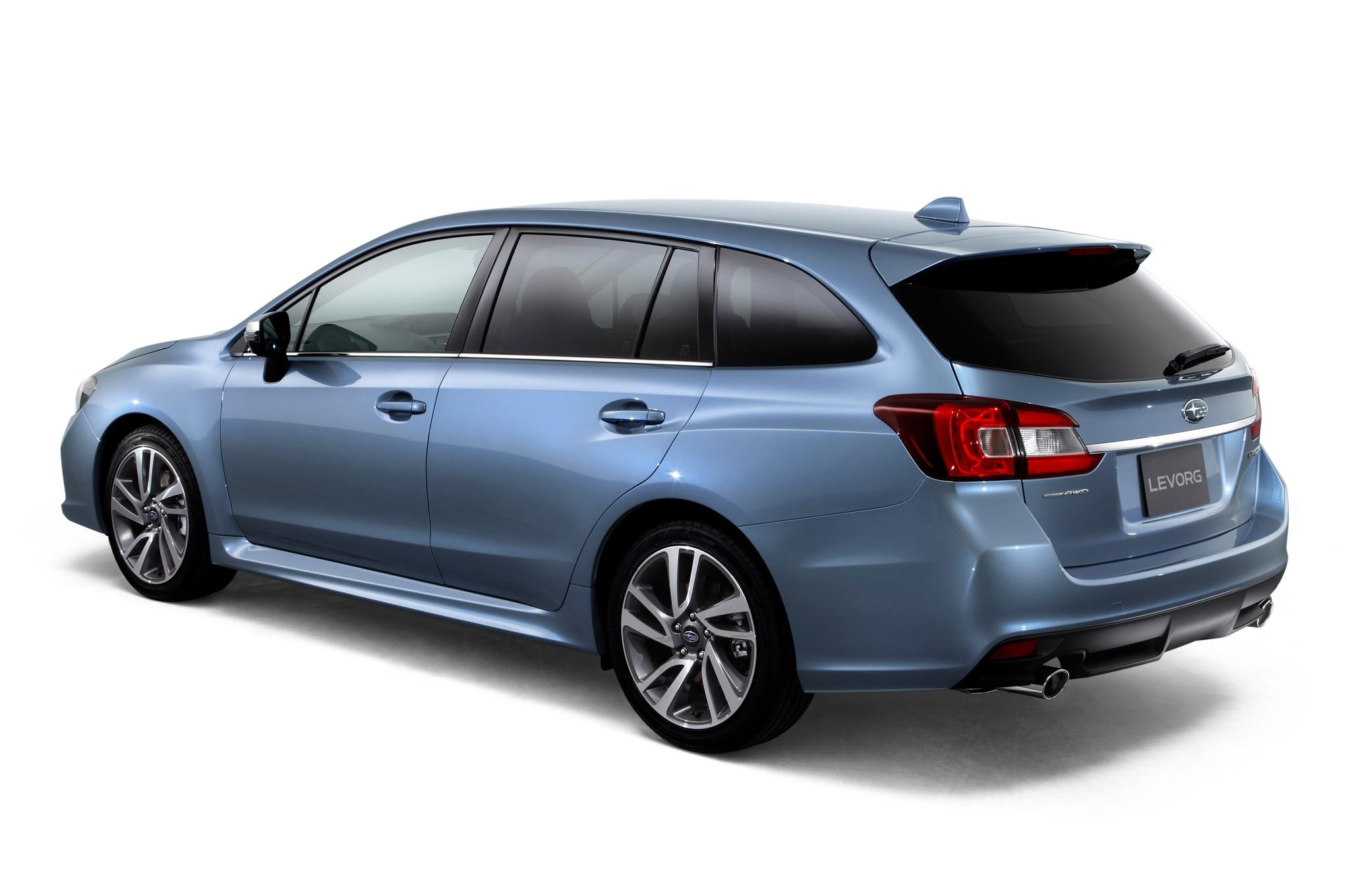 Subaru Levorg Concept Left Rear Angle1