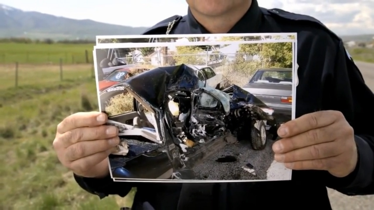 Texting While Driving Crash