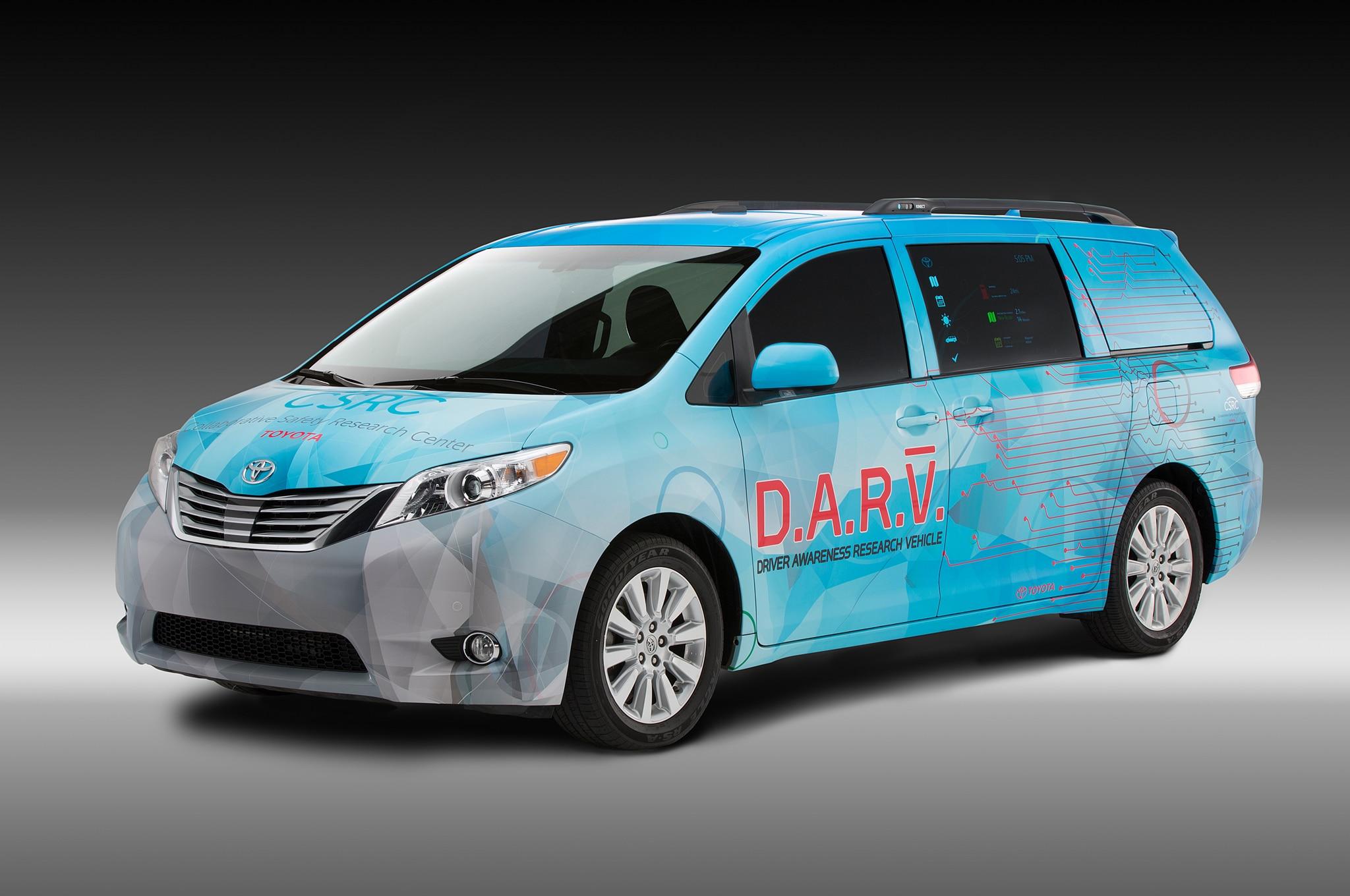 Toyota Dar V Concept Front Three Quarter1