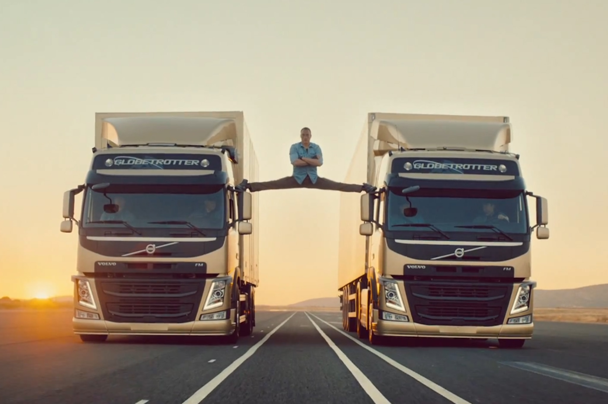 Volvo Trucks Van Damme Video 11