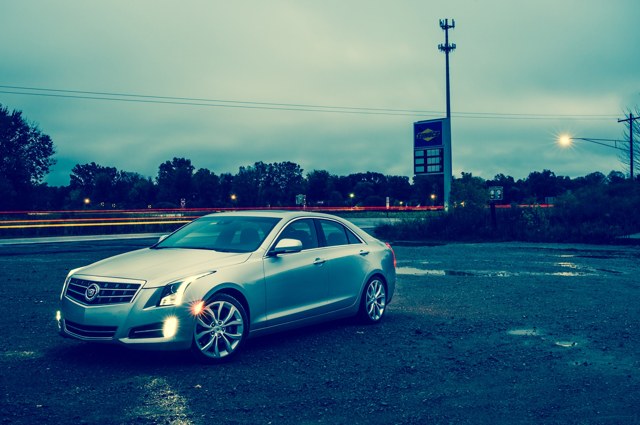 2013 Cadillac ATS Front Three Quarter View1