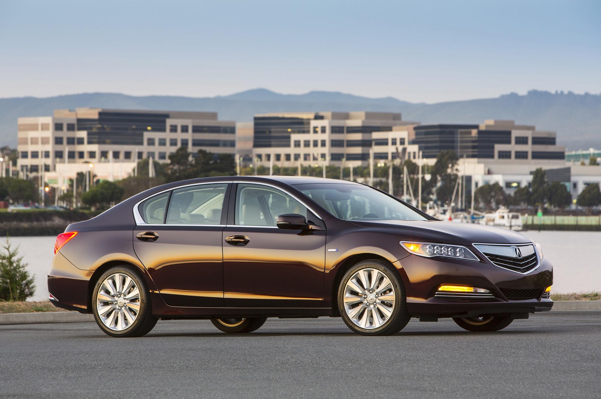 2014 Acura RLX Sport Hybrid SH-AWD Review