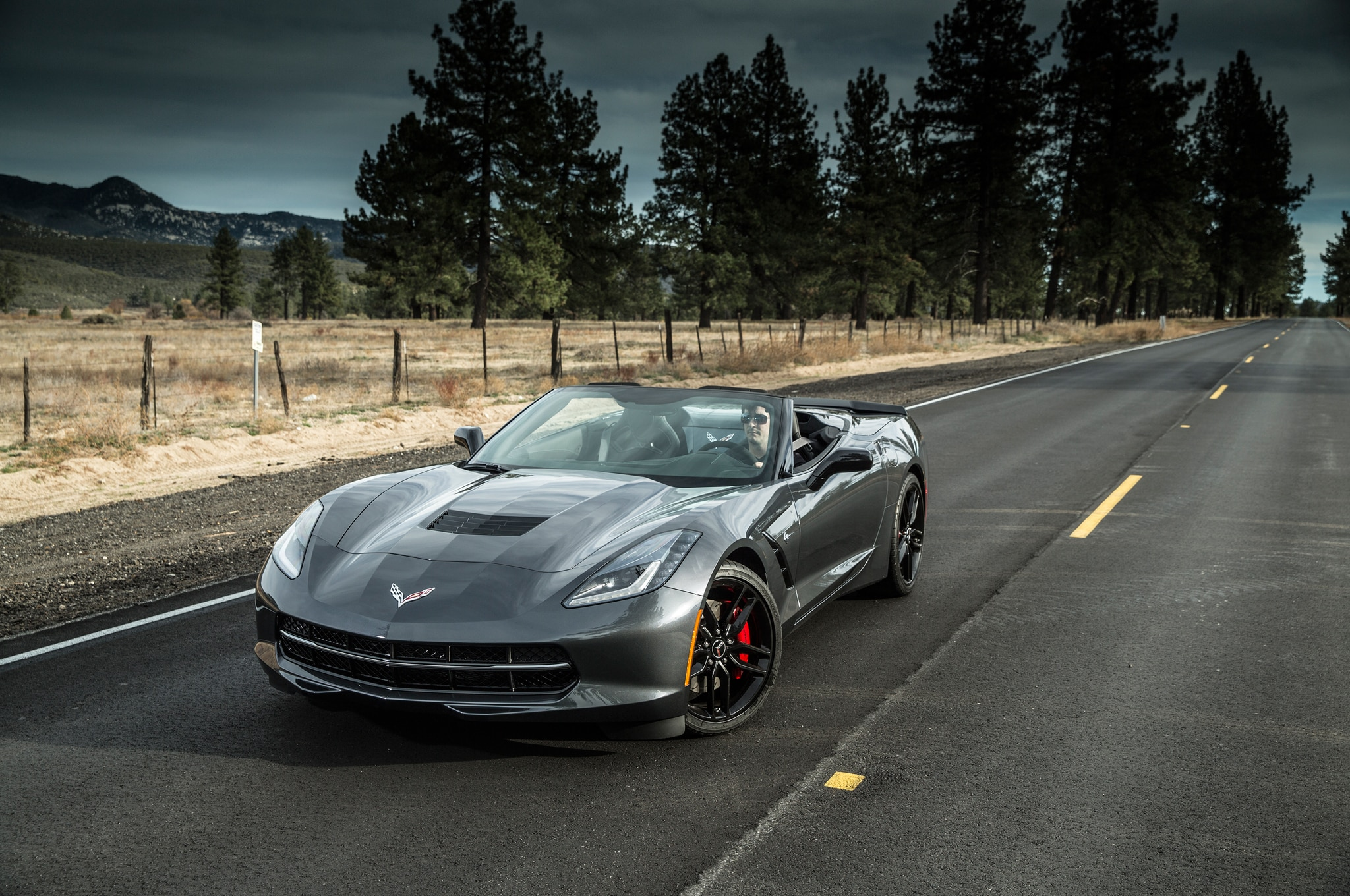 2014 Chevrolet Corvette Stingray Convertible Front End Static1