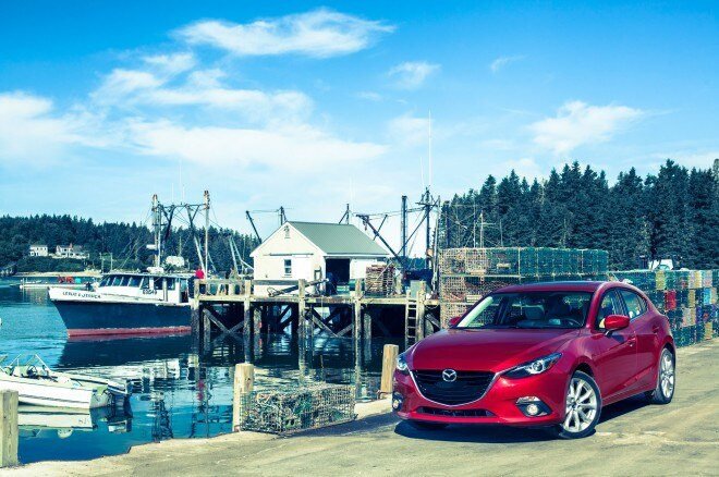 2014 Mazda 3 Front Left View1 660x438