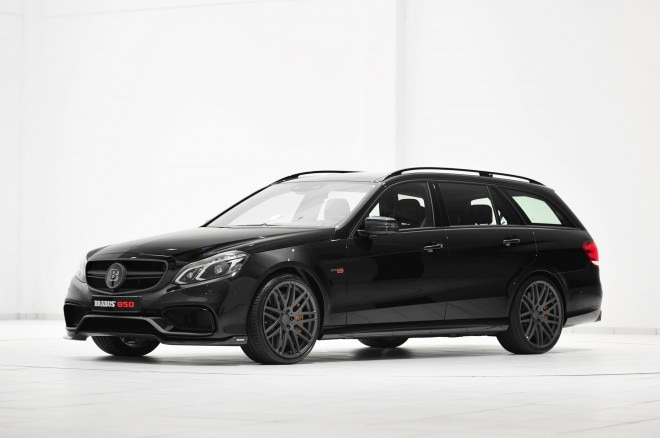 2014 Mercedes Benz E63 AMG Wagon By Brabus Front Three Quarter1 660x438