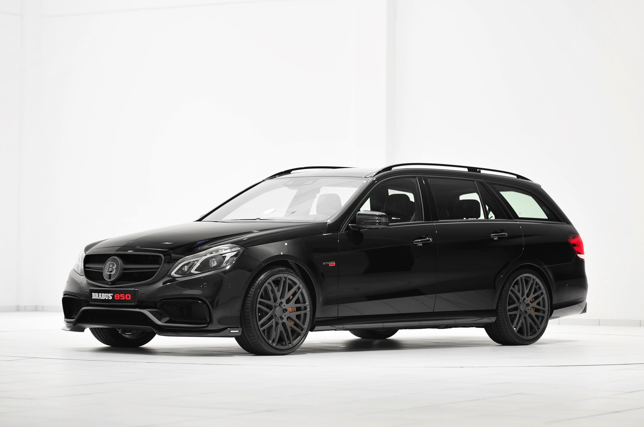 2014 Mercedes Benz E63 AMG Wagon By Brabus Front Three Quarter1