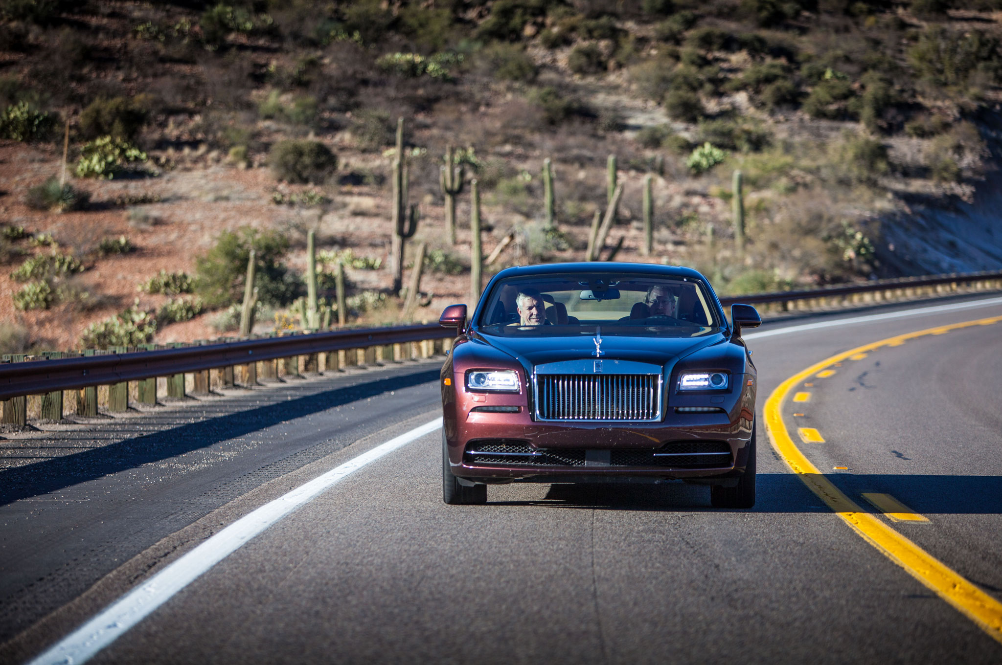 2014 Rolls Royce Wraith Front View 31